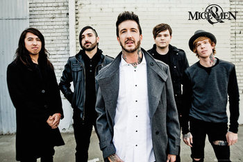 Plakat Of Mice and men - Band