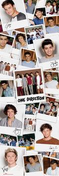Plakat One Direction - polaroids