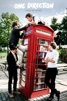Plakat One Direction - take me home
