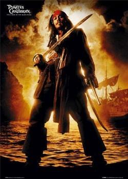 Plakat Pirates of Caribbean - Depp