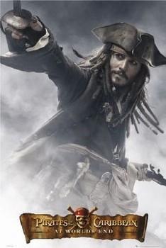 Plakat Pirates of Caribbean - Jack full