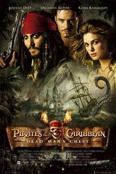 Plakat Pirates of Caribbean - one sheet
