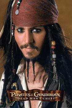 Plakat Pirates of the Caribbean - Johnny Depp