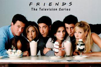 Plakat Przyjaciele - Milkshake