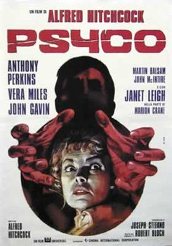 Plakat Psychoza - Italian