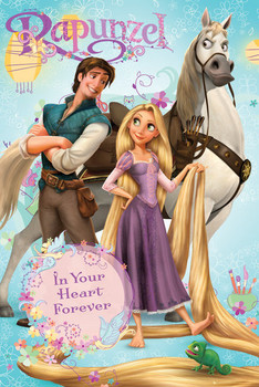 Plakat RAPUNZEL - group