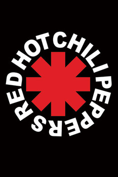 Plakat Red hot chili peppers -logo