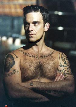 Plakat Robbie Williams - arms folded