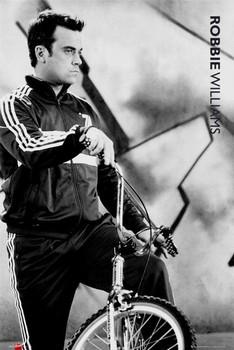 Plakat Robbie Williams - bmx