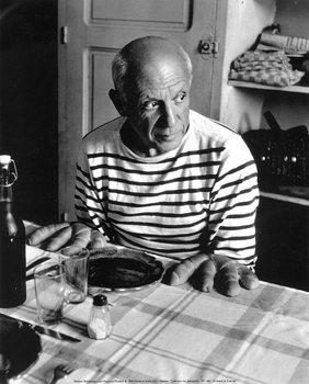 Plakat Robert Doisneau - Les Pains de Picasso, 1952