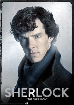 Plakat Sherlock - Close