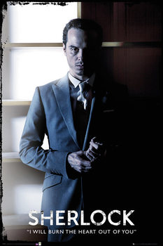 Plakat Sherlock - Moriarty