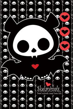 Plakat Skelanimals - diego the bat