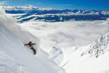 Plakat Snowboarding