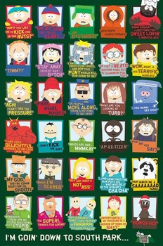 Plakat SOUTH PARK - quotes
