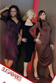 Plakat Sugababes - taller