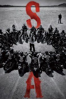 Plakat Synowie Anarchii - Circle