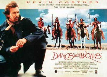 Plakat Tańczący z wilkami - Kevin Costner