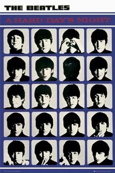 Plakat the Beatles - hard days night