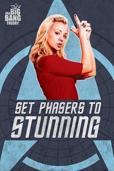 Plakat THE BIG BANG THEORY - phasers