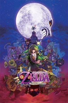 Plakat The Legend Of Zelda - Majora's Mask