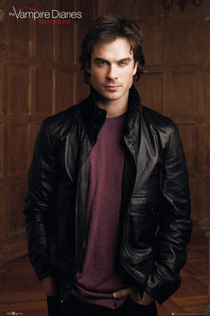 Plakat THE VAMPIRE DIARIES - damon