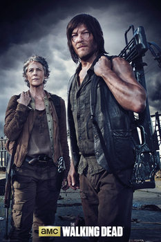 Plakat The Walking Dead - Carol and Daryl