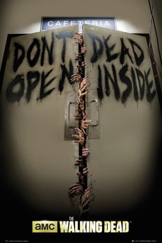 Plakat THE WALKING DEAD - Keep Out