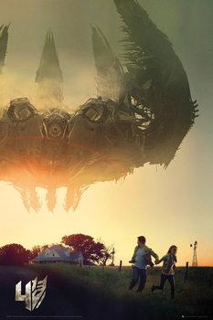 Plakat Transformers 4: Wiek zaglady - One Sheet