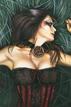 Plakat Vampire girl