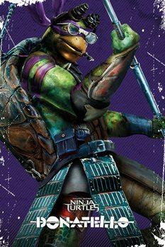 Plakat Wojownicze zólwie ninja – Donatello