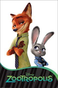 Plakat Zwierzogród - Characters