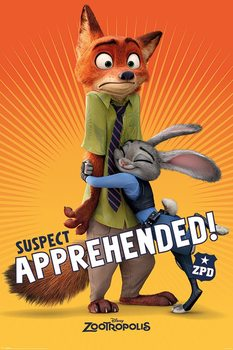 Plakat Zwierzogród - Suspect Apprehended