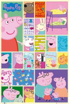 PEPPA PIG - grid pósters   láminas   fotos