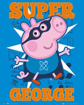 Peppa pig - Super George pósters | láminas | fotos
