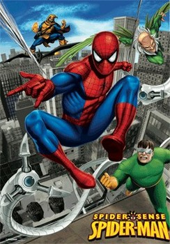 SPIDER-MAN - city chase posters | photos | images | pictures