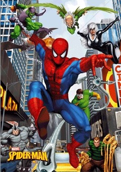 SPIDER-MAN - city posters | photos | images | pictures