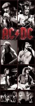 AC/DC - live 2 Poster, Art Print