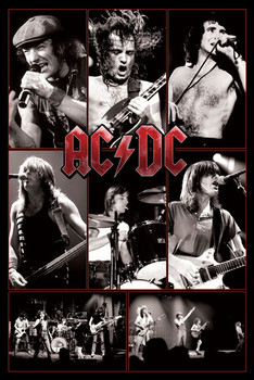 AC/DC - live posters | art prints