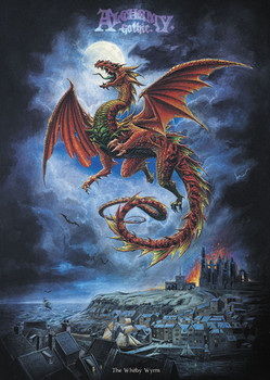 ALCHEMY - whitby wyrm posters | art prints