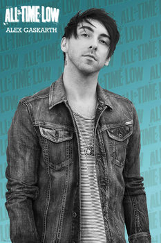 All Time Low - Alex solo Poster, Art Print