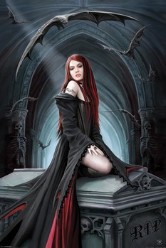 ANNE STOKES - await the night posters | art prints