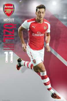 Arsenal FC - Ozil 14/15 Poster, Art Print