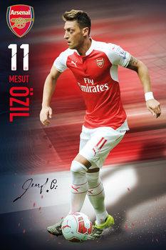 Arsenal FC - Ozil 15/16 Poster, Art Print
