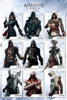 Assassin's Creed Compilation Poster, Art Print