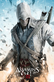 ASSASSINS CREED III - connor posters | art prints