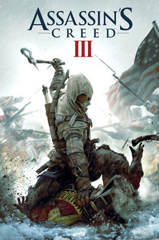 ASSASSINS CREED III - cover posters | art prints