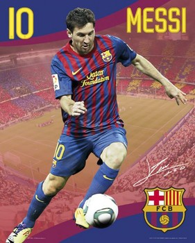 Barcelona Messi 10/1 posters | art prints