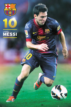 BARCELONA - Messi 12/13 posters | art prints