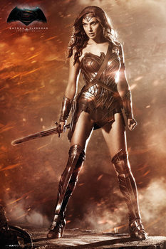 Batman v Superman: Dawn of Justice - Wonder Woman Poster, Art Print